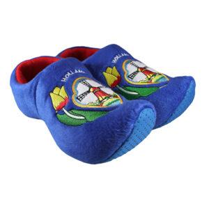 Klomp pantoffels Nijhuis molen blauw