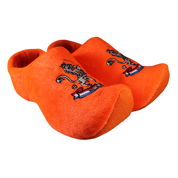 Klomp pantoffels Nijhuis oranje leeuw