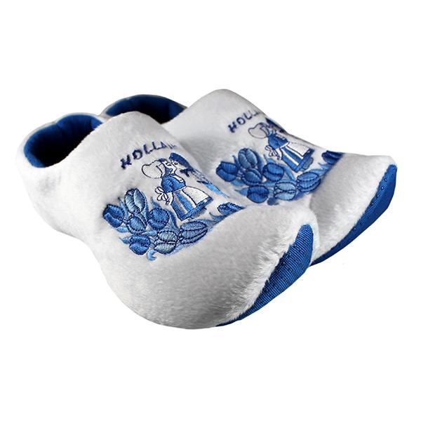 Klomp pantoffels Nijhuis delftsblauw kus