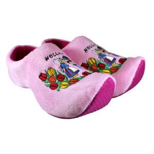 Klomp pantoffels Nijhuis roze kus
