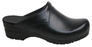 Schoenklompen Sanita San-Flex 314 zwart