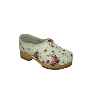 Schoenklompen Simson bloemenprint 960