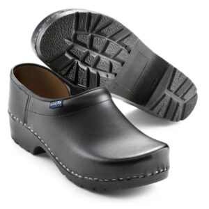 Schoenklompen Sika traditioneel PU 124 zwart