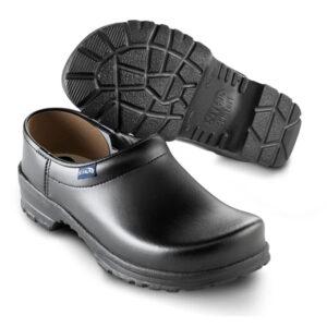 Schoenklompen Sika 125 comfort OB zwart