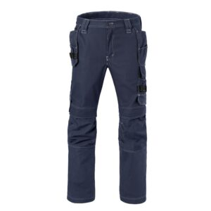 Werkbroek Havep Attitude, zakken + kniezakken 80230 blauw
