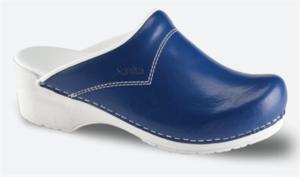 Schoenklompen Sanita San-Flex 314 navy blauw