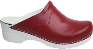 Schoenklompen Sanita San-Flex 314 rood