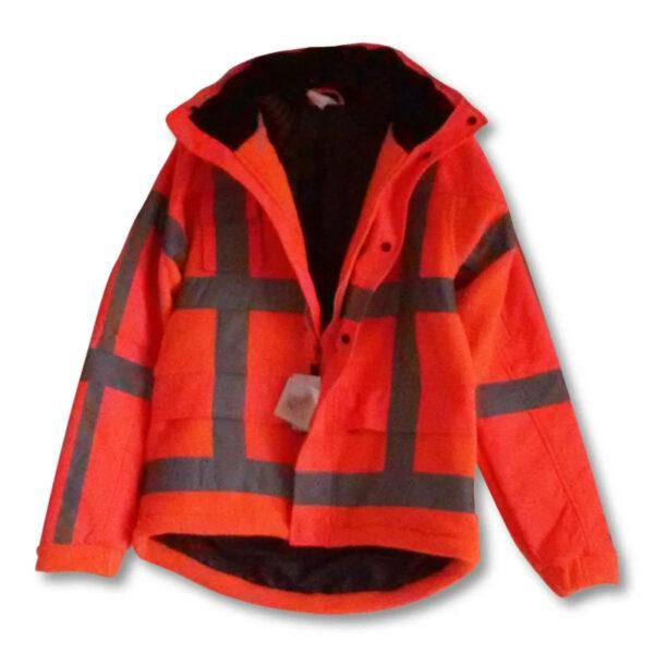 Fleece jack RWS M-Wear oranje