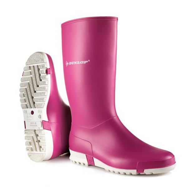 Hobbylaarzen Dunlop Sport roze