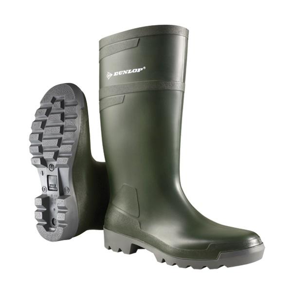 Hobbylaarzen Dunlop knie/lang groen
