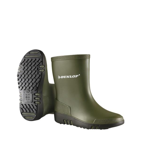 Kinderlaarzen Dunlop groen