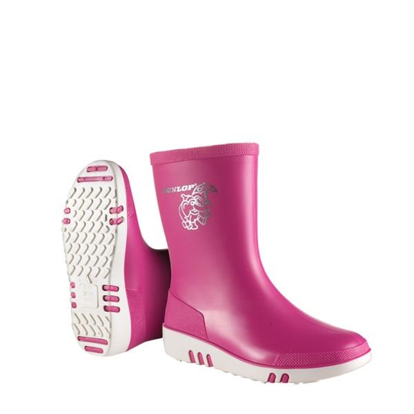 Kinderlaarzen Dunlop roze