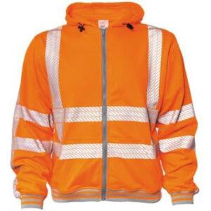 Hooded sweater M-wear 6230 oranje