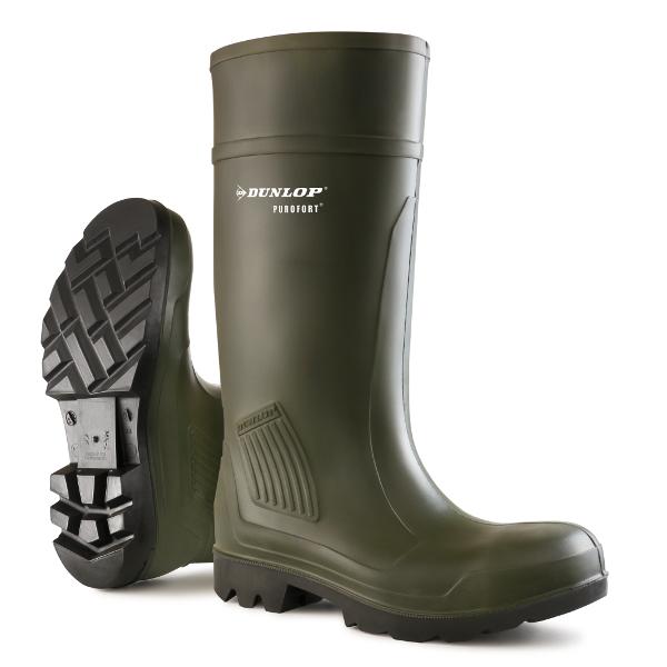 Werklaarzen Dunlop Purofort S5 groen