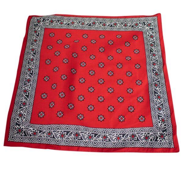zakdoek rood klein
