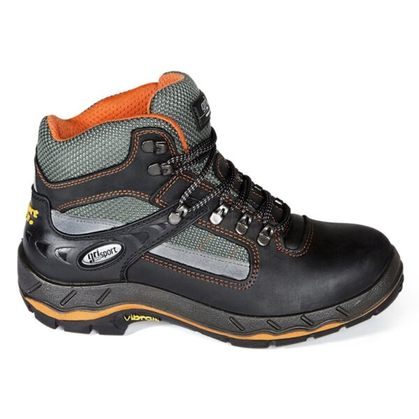 Werkschoenen Grisport 71607 zwart/oranje S3